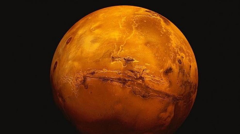 Българска апаратура заработи от Марс