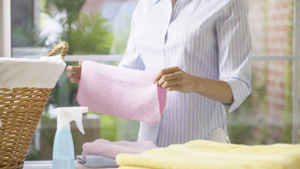 След колко използвания трябва да изперем хавлиената кърпа