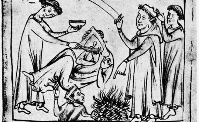 около 270 г. пр. Хр, лекуване на епилепсия от древните римляни