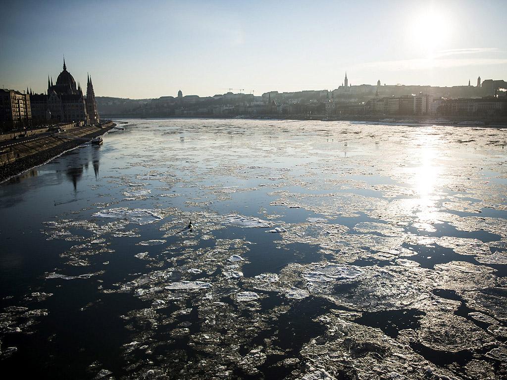 Река Дунав в Унгария