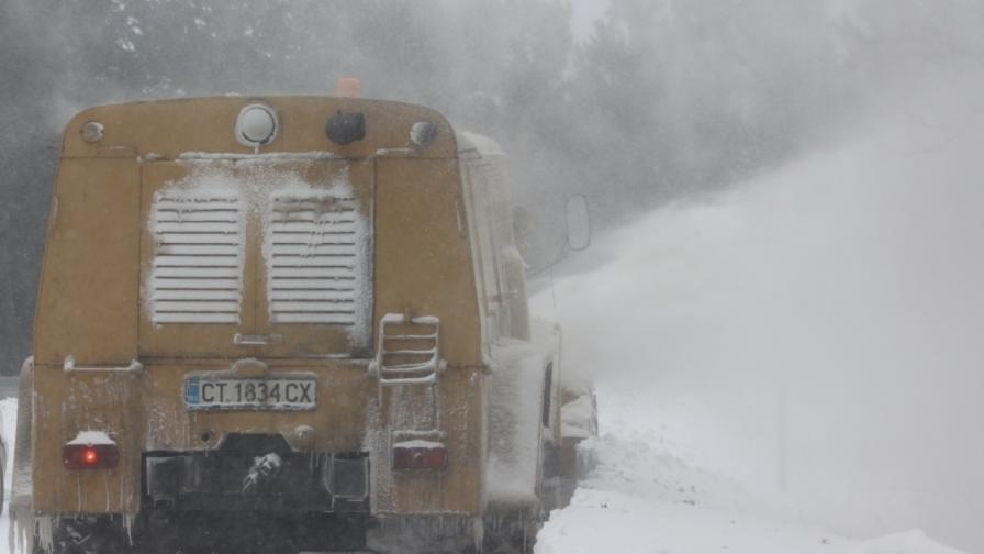 Отново затворени магистрали, Бургас блокиран