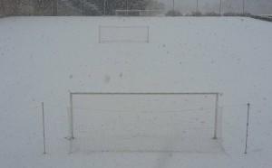 Снегът провали контролата Септември - Локо Сф