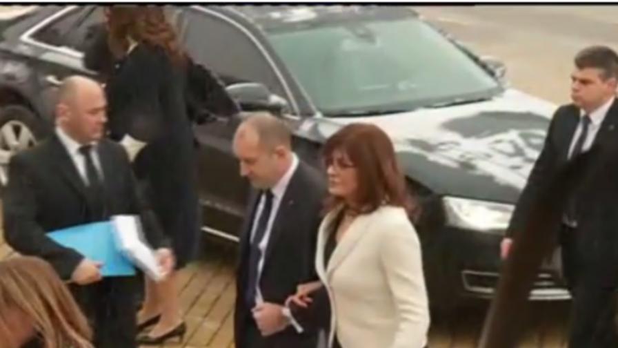 Румен Радев се закле, скандал в НС заради реплика