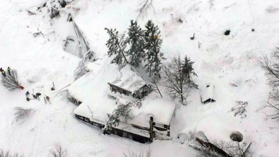 Нова трагедия в района на затрупания хотел в Италия