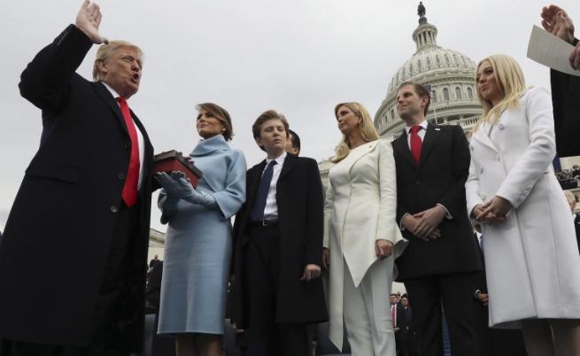 Доналд Тръмп: Предаваме властта от Вашингтон на хората