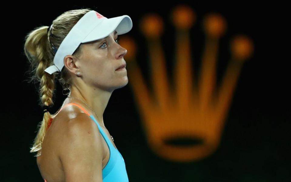 Кербер след отпадането: Това не беше моят тенис