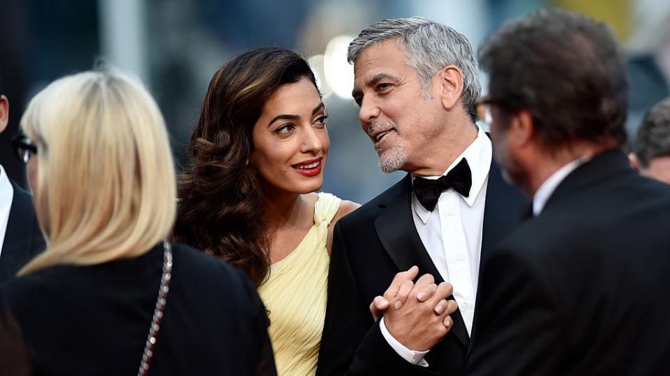 Бременна ли е наистина съпругата на Джордж Клуни?