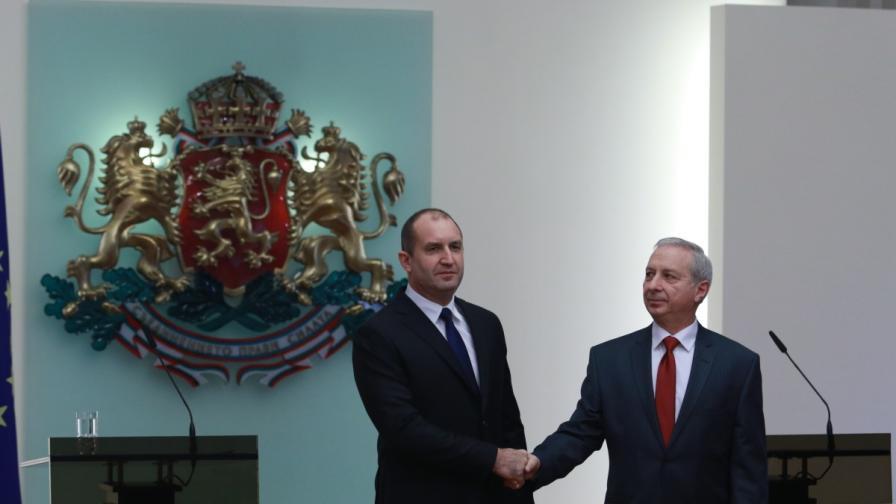 Радев очерта две задачи пред кабинета, Гарелов става съветник