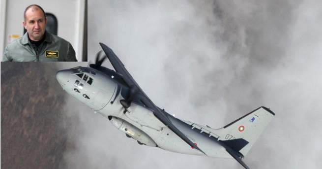 """Инцидент с военния самолет """"Спартан"""" е станал днес, при извършване"""