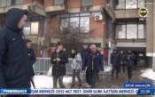 Нападение със снежни топки във Фенербахче, Обрадович пострада