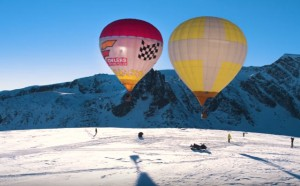 Вдъхновяващо: Полет с балон над Рилските езера
