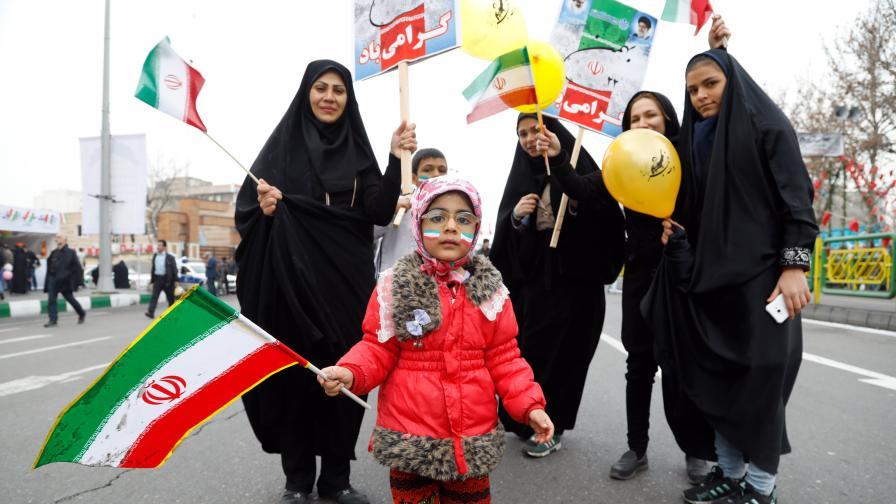 Жени в Иран
