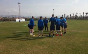 Левски Карлово тренира здраво в Турция