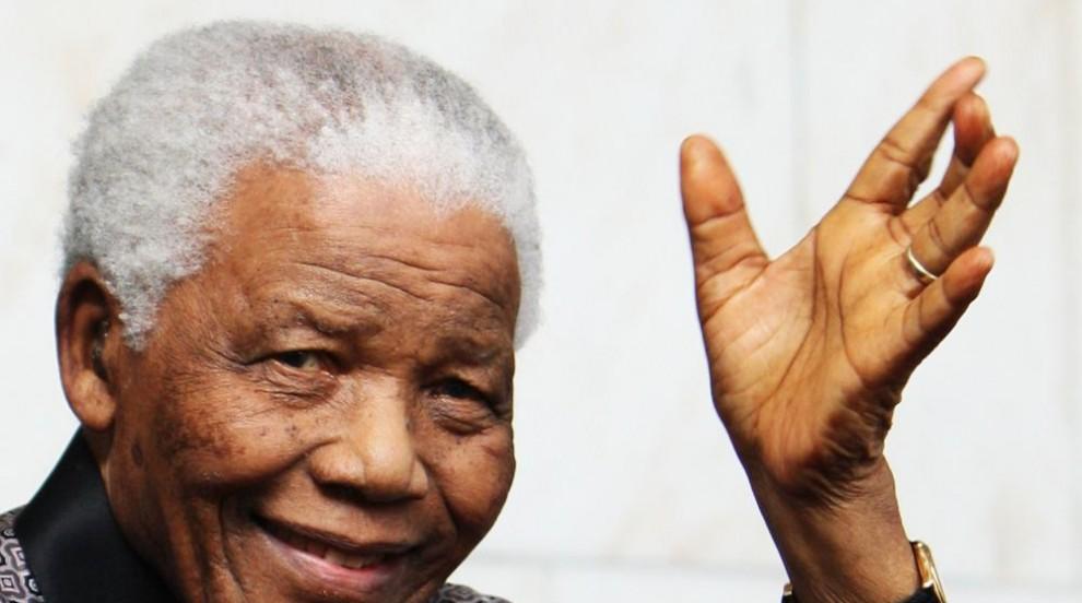 Продадоха на търг картина на Нелсън Мандела
