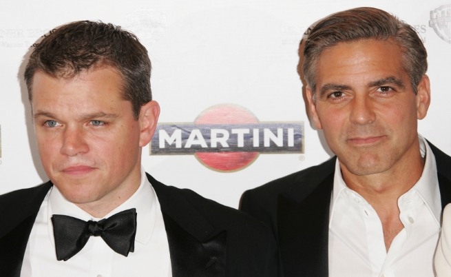 Мат Деймън и Джордж Клуни