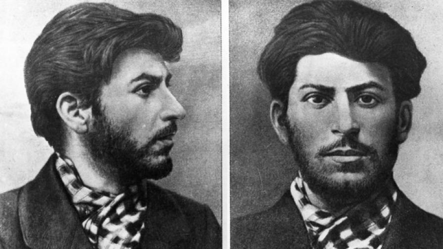 Житейският път на Сталин в снимки