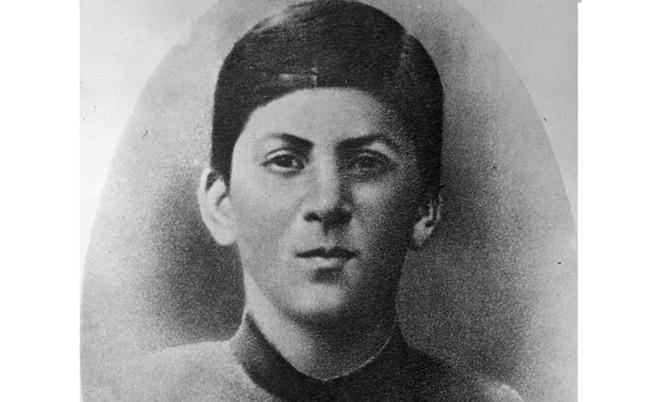 15-годишният Сталин