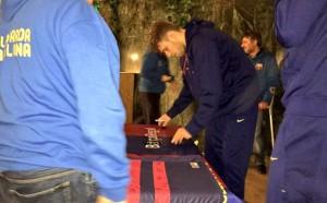 Везенков и Барса се срещнаха с фенове в Милано