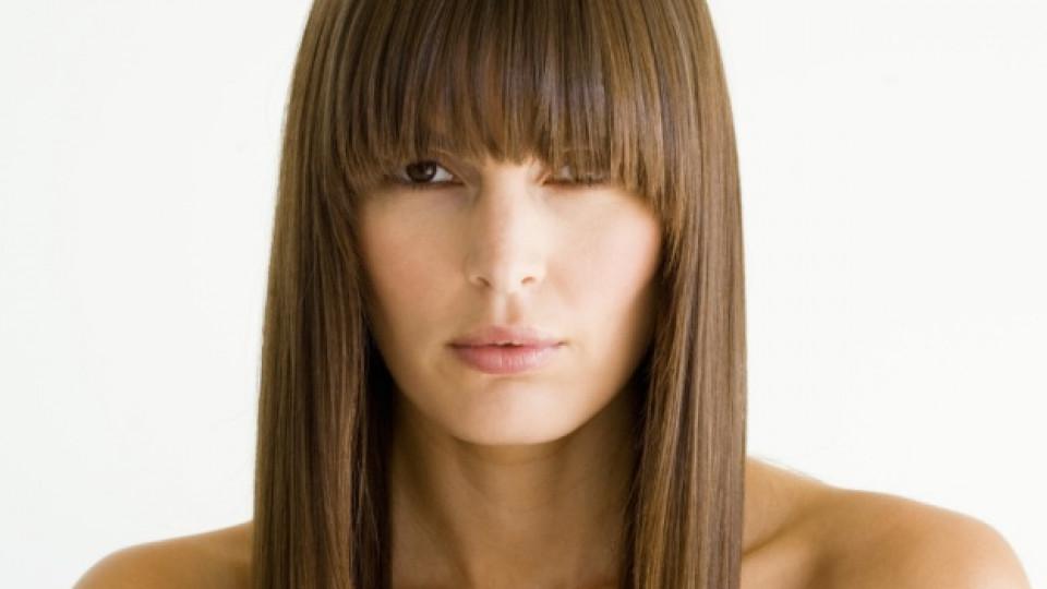 Как да изправим косата без преса