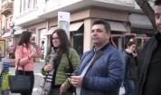 Пеещо куче - атракция в центъра на Пловдив