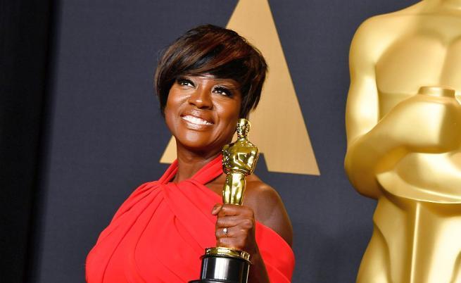 Вайола Дейвис е първата чернокожа актриса, номинирана три пъти за Оскар.