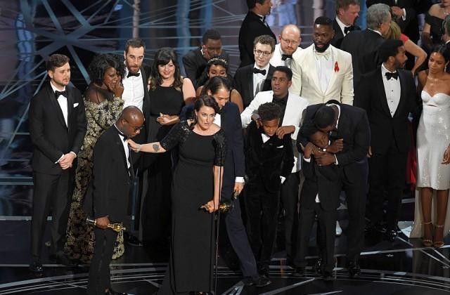 Лунна светлина спечели Оскар за най-добър филм