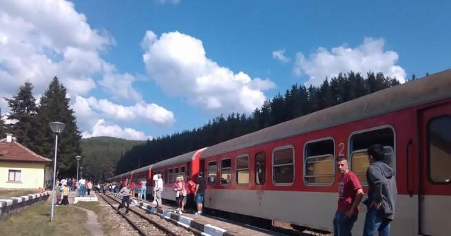 На 22 август (четвъртък) няма да се движат пътнически влак
