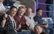Ивет Лалова на европейското първенство, но като зрител