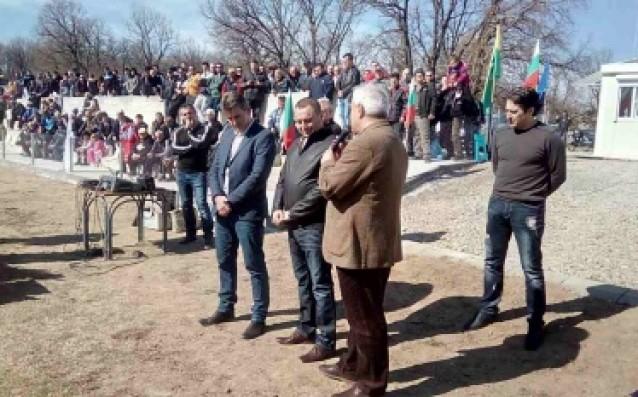 БФС и Боби Михайлов с прекрасен жест на подкрепа към Хитрино източник: www.bfunion.bg
