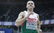 Националът Георги Цонов с личен рекорд в зала
