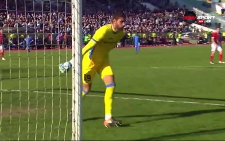 Спасяване на Николай Кръстев срещу ЦСКА