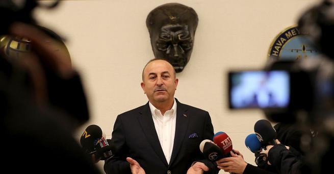 Турският външен министър Мевлют Чавушоглу заяви днес, че Русия носи
