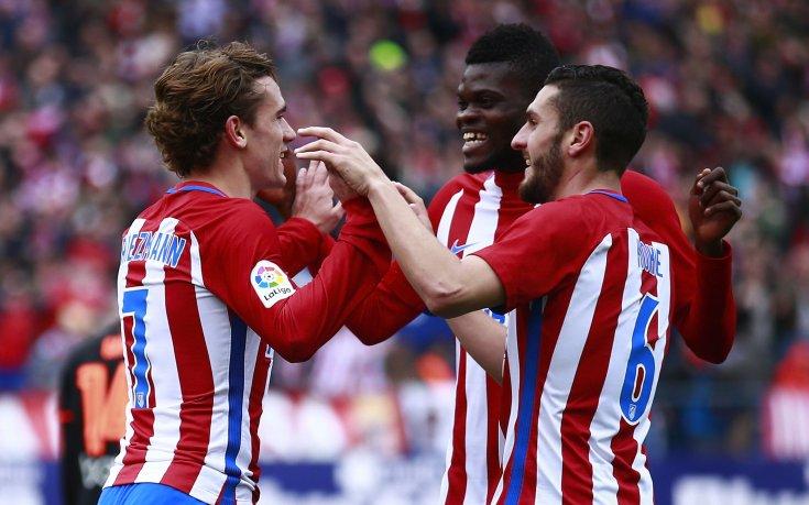 Гризман спаси Атлетико Мадрид срещу Гранада