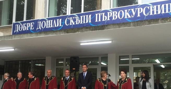 """Снимка: Правителството каза """"да"""" на Медицинския факултет в Бургас"""