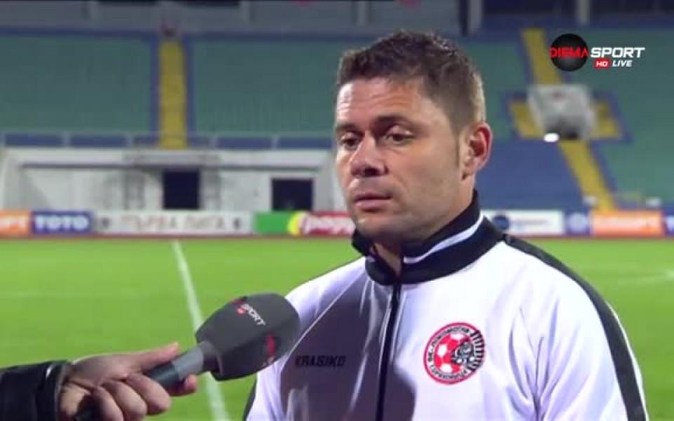 Александър Димитров избра националите за дебюта си в Марбея
