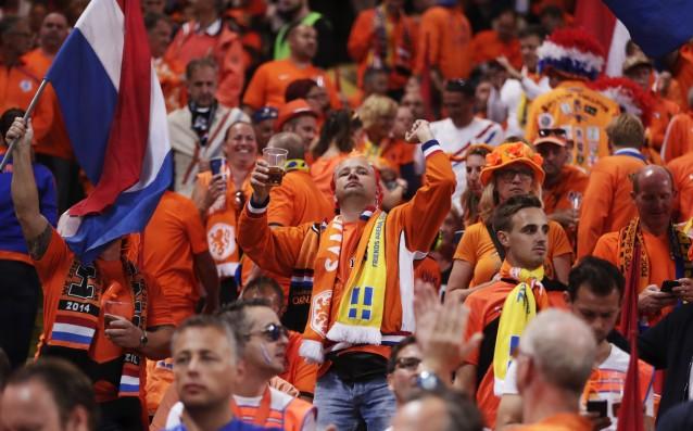 Феновете на Холандия<strong> източник: Gulliver/Getty Images</strong>