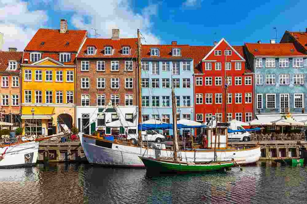 Копенхаген, столицата на Дания
