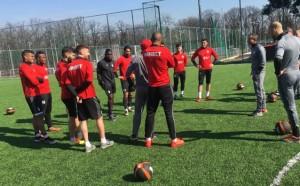 Дюлгеров тренира наравно с останалите в ЦСКА