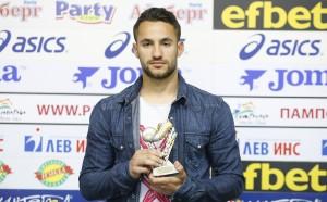 Борислав Цонев е №1 за 25-ия кръг в Първа лига