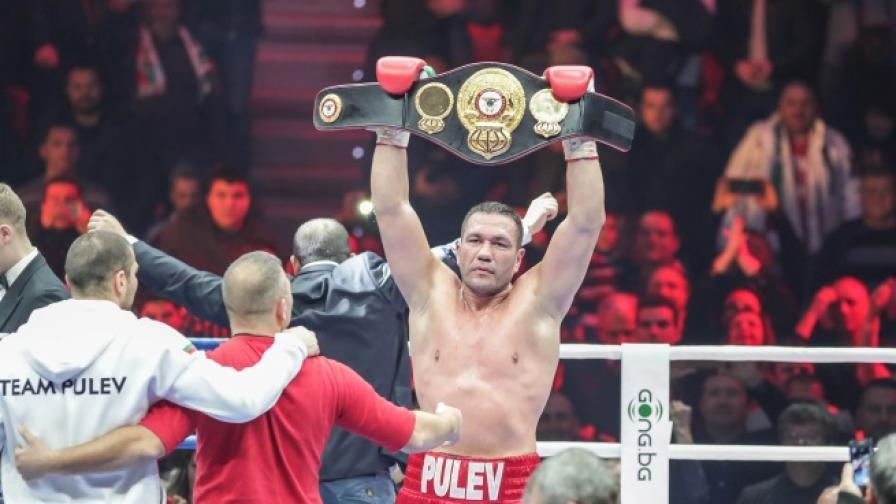 Кубрат Пулев в битка за световната титла на 28 април