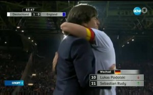 Германия - Англия 1:0 /репортаж/