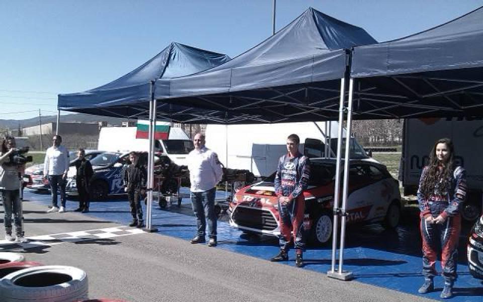 MotorSport Academy Bulgaria с екипаж в картинга