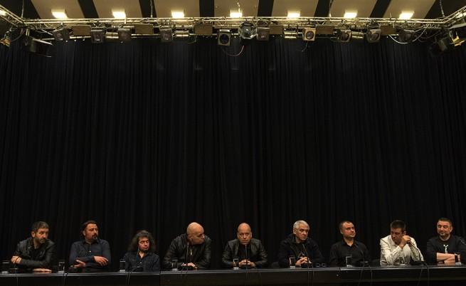Пресконференция на Слави Трифонов