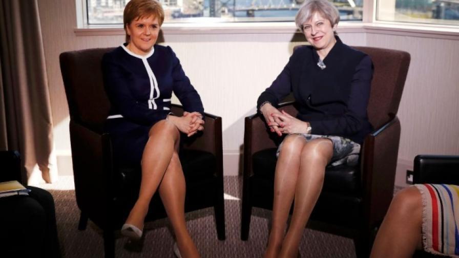 Брекзит или Legs-it (най-хубавите крака)