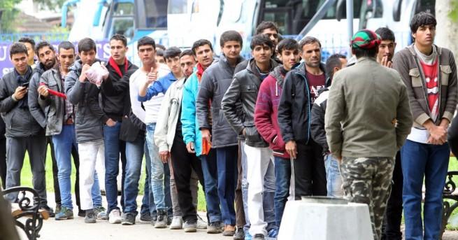 Гръцката полиция откри 14 нелегални мигранти в камион идващ от