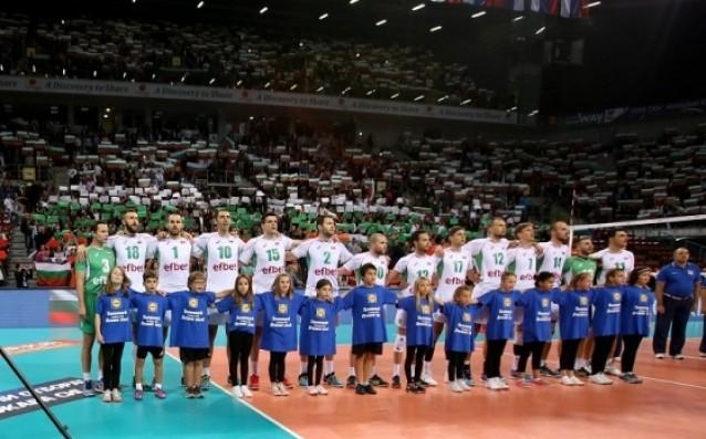 Българският национален отбор по волейбол източник: volleyball.bg