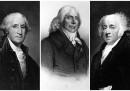 Джордж Вашингтон, Шарл Морис дьо Талейран и Джон Адамс