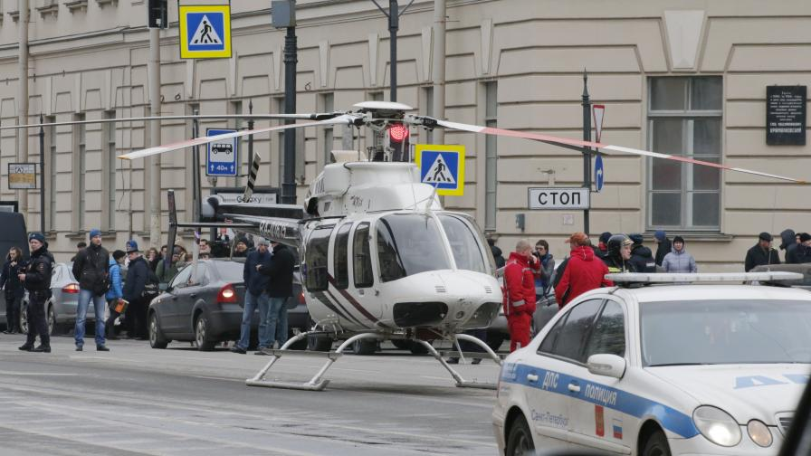 Бомбата в Петербург може да е активирана с телефон
