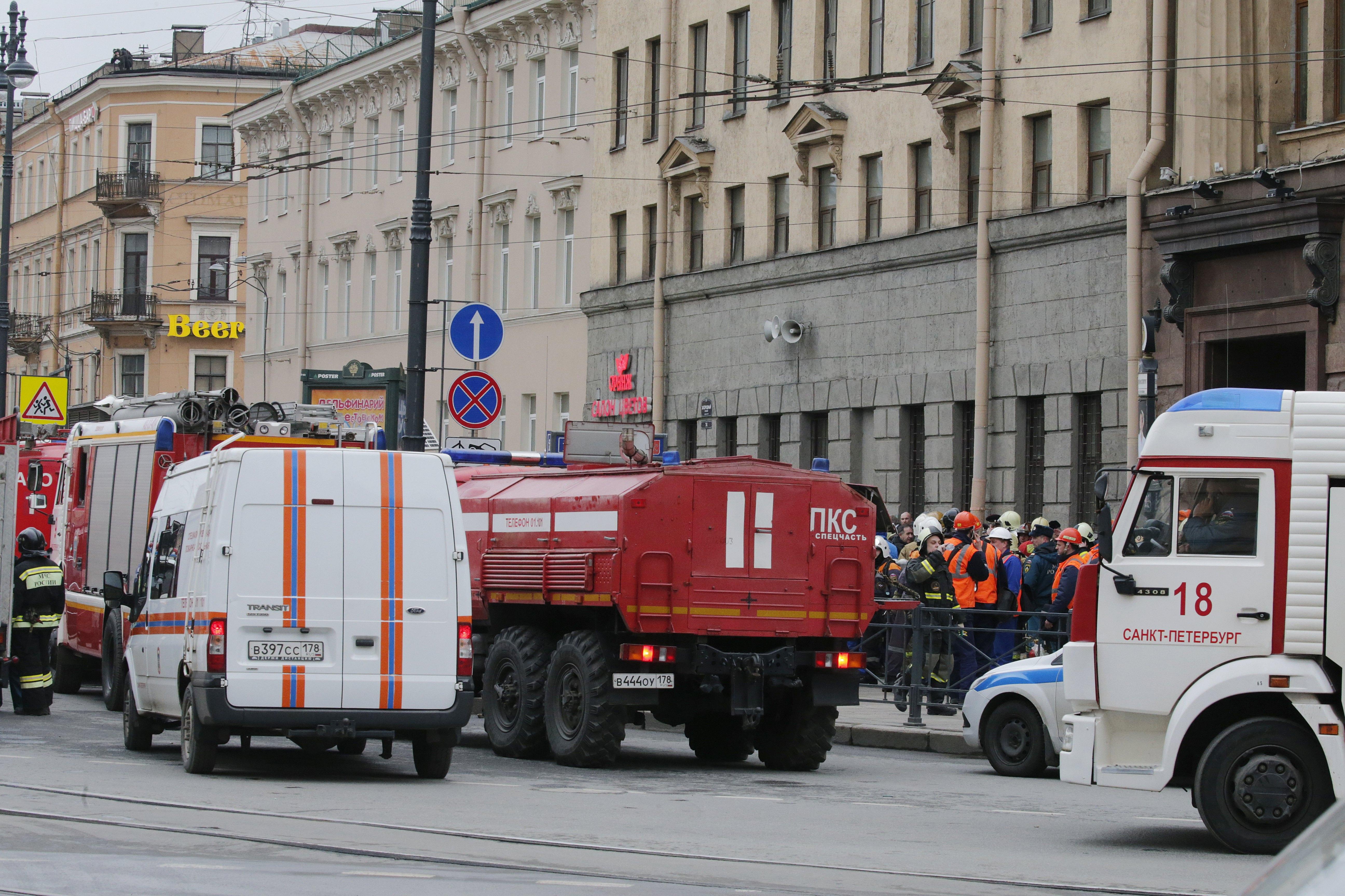Експлозия избухна в метрото на Санкт Петербург в 14:40 часа. Пострадали са общо 47 човека. Седем са починали на място, един е загинал при транспортирането към болница. От пострадалите 43-ма са хоспитализирани, като двама от тях са починали от раните си в спешните отделения.