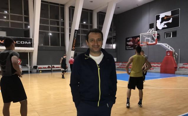 Танер Гюнай в залата на ЦСКА източник: Gong.bg